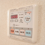 雨の日に嬉しい浴室乾燥機!