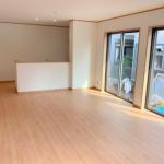視界の広い対面式キッチンがある間取り☆(内装)
